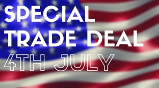 4th July Special Trade Offer