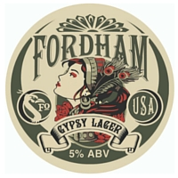 Fordham Gypsy Lager badge