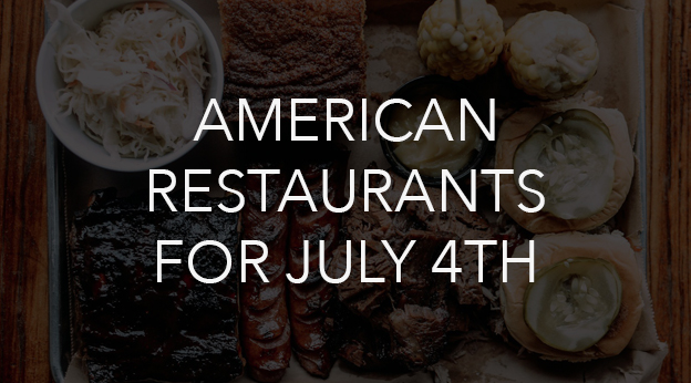 London Food Spots on July 4th