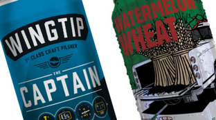 New Craft Beer Cans - Wingtip & Tailgate
