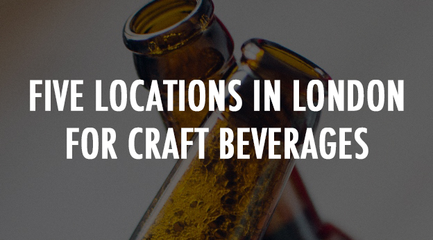 Five Locations in London for American Craft Beverages This Spring
