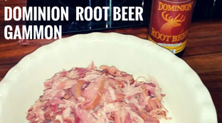Slow Cooked Gammon in Root Beer