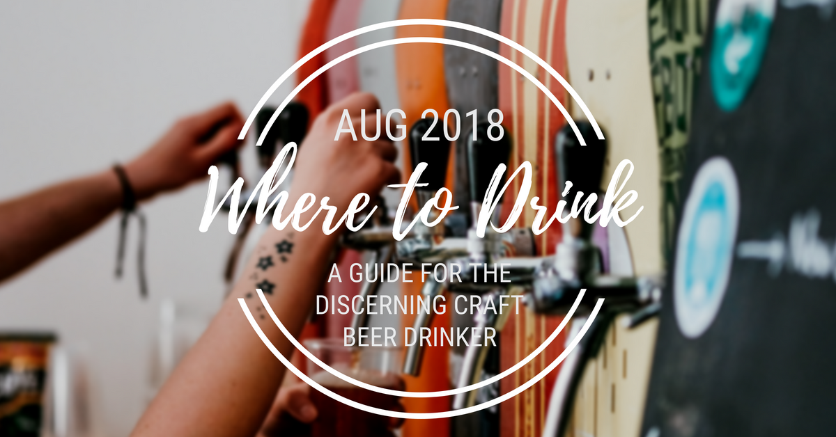 Where to Drink in August