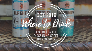 Where to Drink in October
